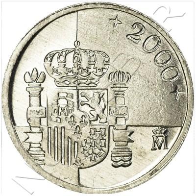1 peseta SPAIN 2000 UNC