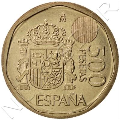 500 pesetas SPAIN 2001 UNC