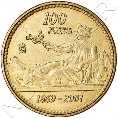 100 pesetas SPAIN 2001 UNC