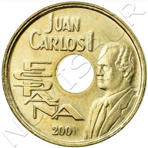 25 pesetas SPAIN 2001 - UNC