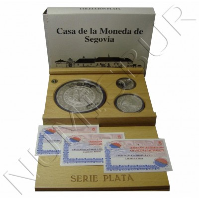 Coleccion completa ESPAÑA 2001 - Casa de la moneda de Segovia