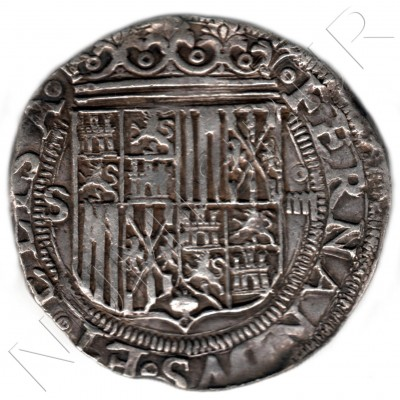 4 reales SPAIN 1474/1504 - Fernando and Isabel Sevilla