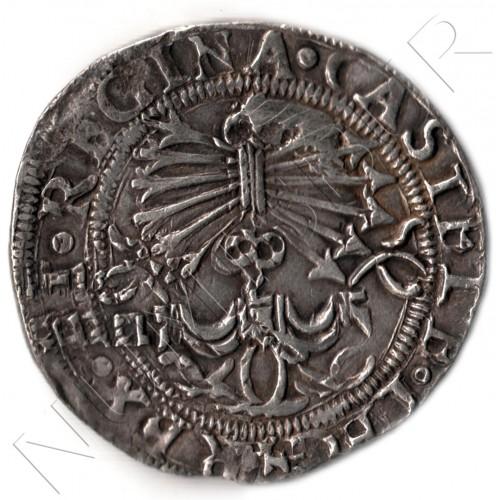 4 reales ESPAÑA 1474/1504 - Fernando e Isabel Sevilla