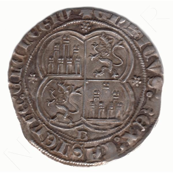 1 Real ESPAÑA 1368 - 1379 | Enrique II BURGOS #113