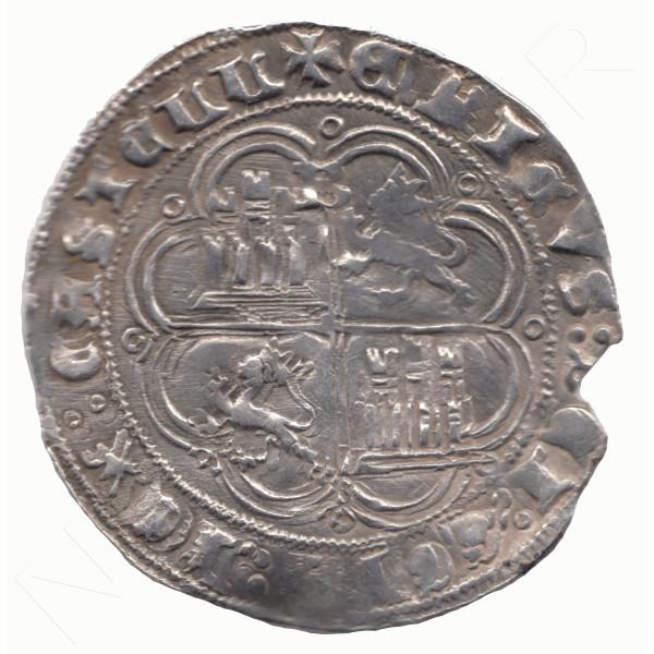 1 Real ESPAÑA 1454 - 1474 | Enrique IV BURGOS #114