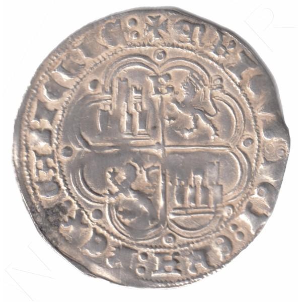 1 Real ESPAÑA 1454 - 1474 | Enrique IV BURGOS #115