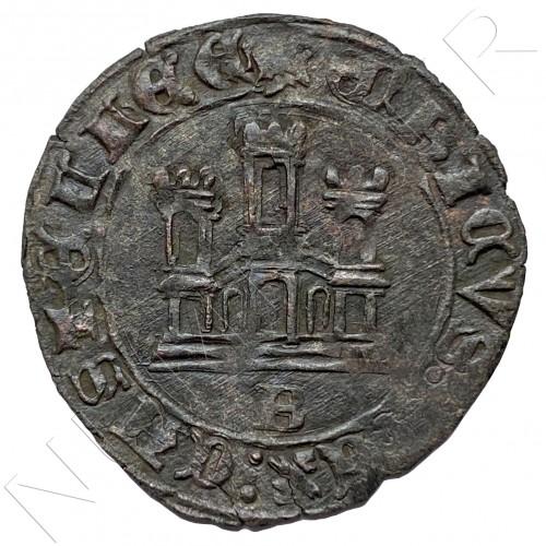 Maravedi ESPAÑA Burgos (1454-1474) REINO DE CASTILLA Y LEON