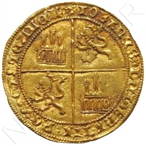 REINO CASTILLA | Dobla de la banda BURGOS 1406 - 1454