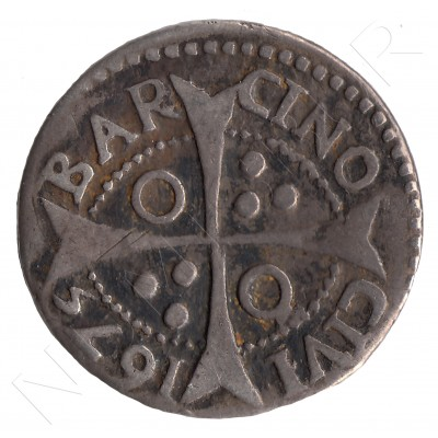 1 croat SPAIN 1675 - Carlos II BARCELONA