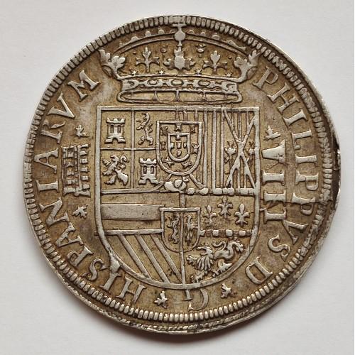 8 reales SPAIN 1588 - Felipe II Segovia (Small date)