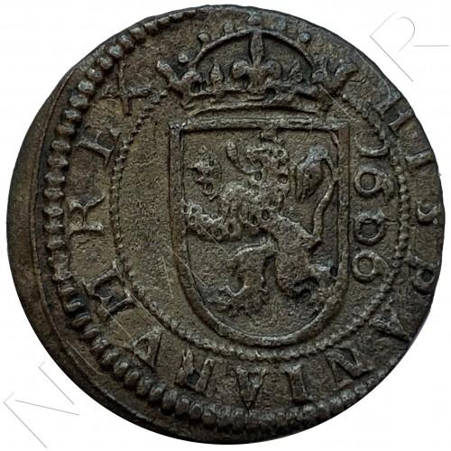 8 maravedies SPAIN 1606 - Sevilla (Felipe III)