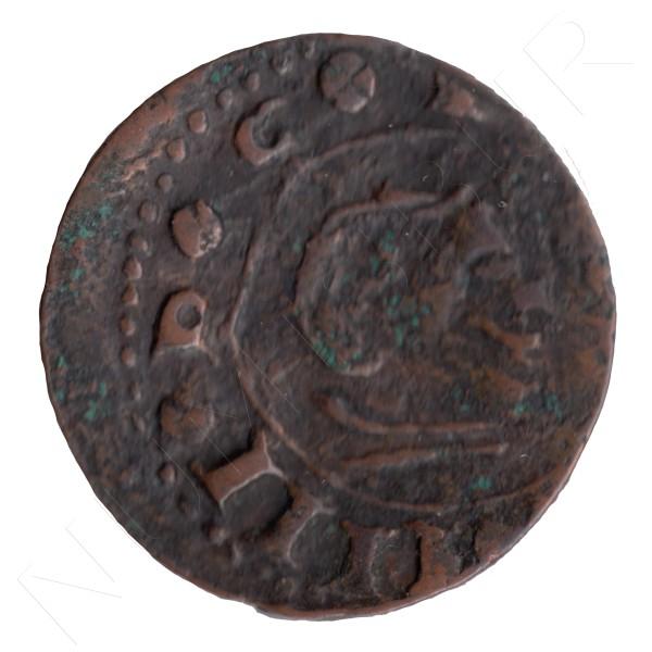 16 maravedies ESPAÑA 166? - Felipe IV S #112