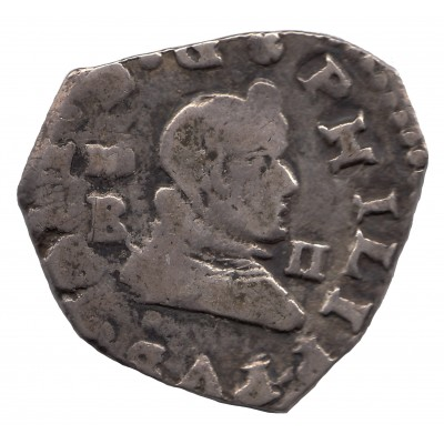 2 reales SPAIN 1643 - Felipe IV MADRID B
