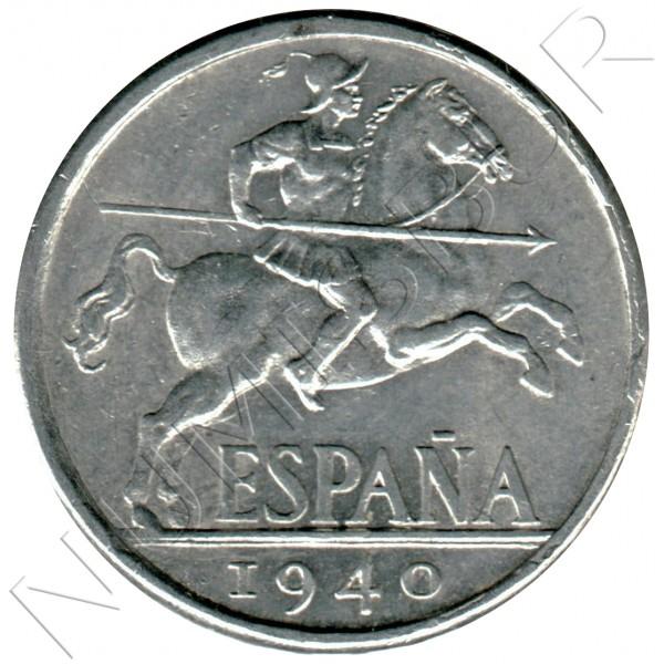 10 cents SPAIN 1940 - Jinete Ibérico