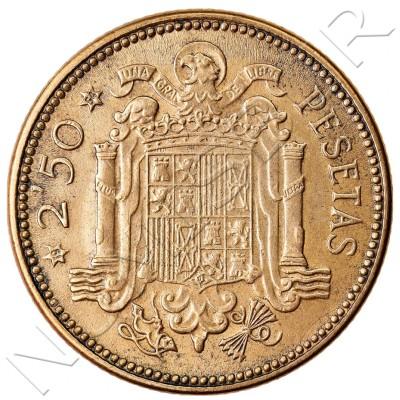 2.5 pesetas SPAIN 1953 - Franco *54*