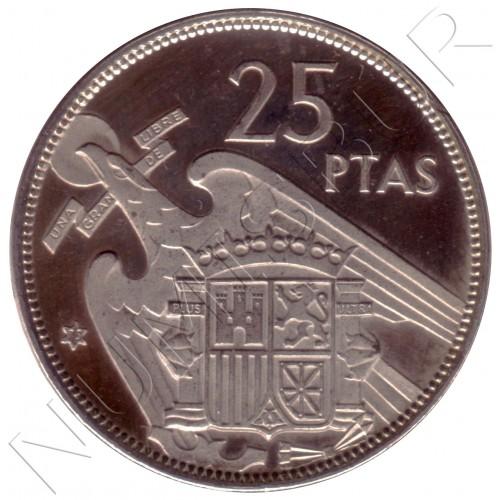 25 pesetas SPAIN 1957 - FRANCO *19* *75*