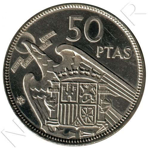 50 pesetas SPAIN 1957 - FRANCO *19* *72*
