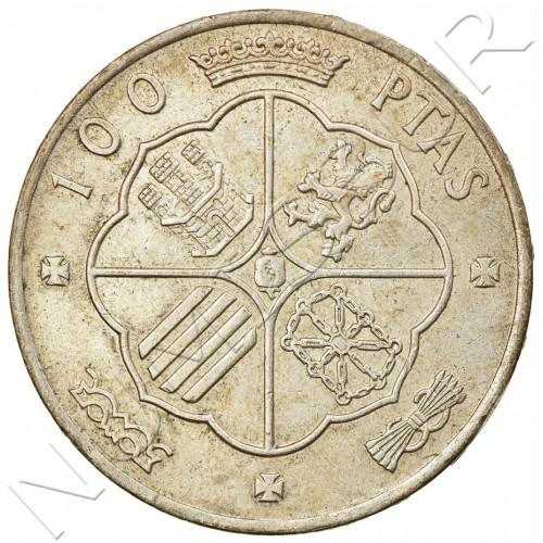 100 pesetas SPAIN 1966 - Franco *66*