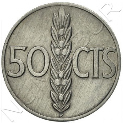 50 cents SPAIN 1966 - Franco *75*