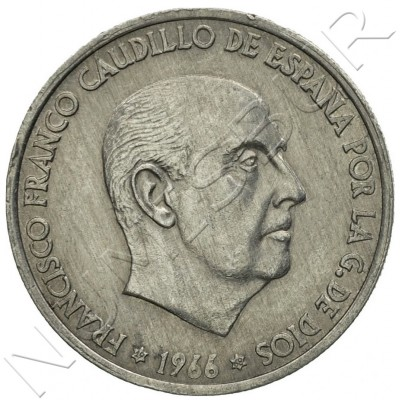 50 cents SPAIN 1966 - Franco *68*