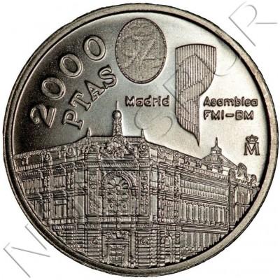 2000 pesetas SPAIN 1994 - Monetary Fund
