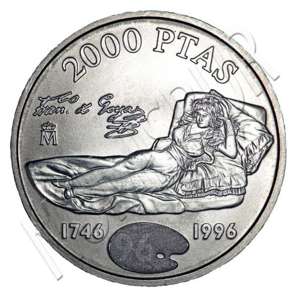2000 pesestas ESPAÑA 1996 - Goya