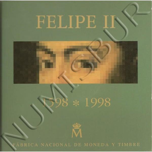 2000 pesestas ESPAÑA 1998 - El escorial