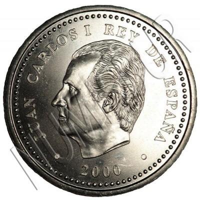 2000 pesetas SPAIN 2000 - V Centenario Carlos V