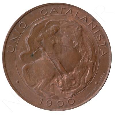 5 cents UNION CATALANISTA 1900 - BARCELONA #68