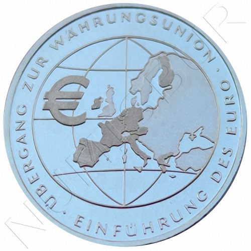 "10€ GERMANY 2002 - Euro Currency ""F"""