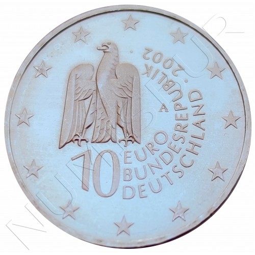"10€ GERMANY 2002 - Berlin Museum ""A"""