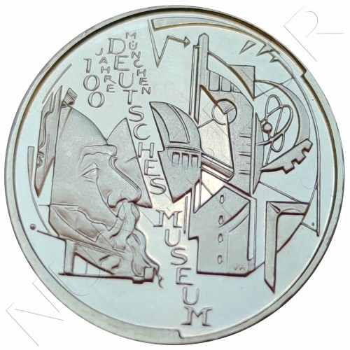 "10€ GERMANY 2003 - German museum Munich ""D"""