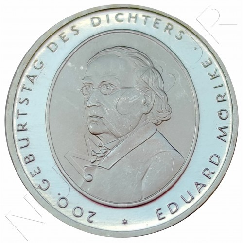 "10€ GERMANY 2004 - Eduard Mörike ""F"""