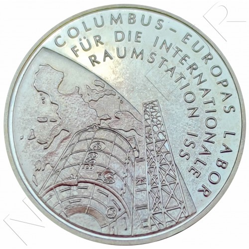 "10€ GERMANY 2004 - Columbus Laboratory on ISS ""D"""