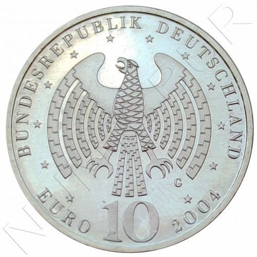 "10€ GERMANY 2004 - European Union ""G"""