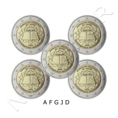 2€ ALEMANIA 2007 - Tratado de Roma