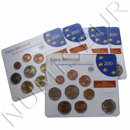 Euroset ALEMANIA 2007 - BU (ADFGJ)