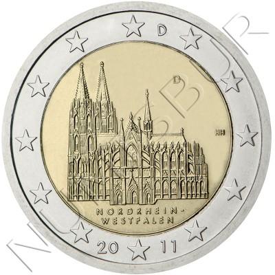 2€ ALEMANIA 2011 - Nordrhein-Westfalen