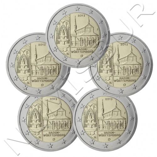 2€ ALEMANIA 2013 - Baden-Wurtemberg