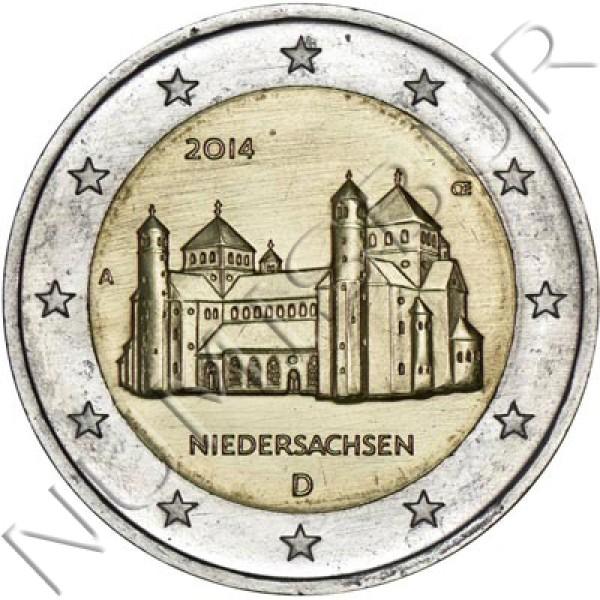 2€ ALEMANIA 2014 - NIEDERSACHSEN