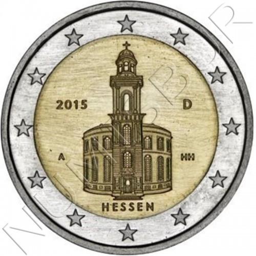 2€ GERMANY 2015 - Hessen