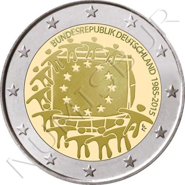 2€ ALEMANIA 2015 - XXX aniv. de la bandera Europa