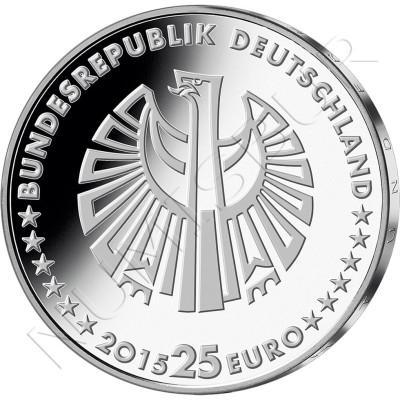 25€ ALEMANIA 2015 - Reunificacion alemana