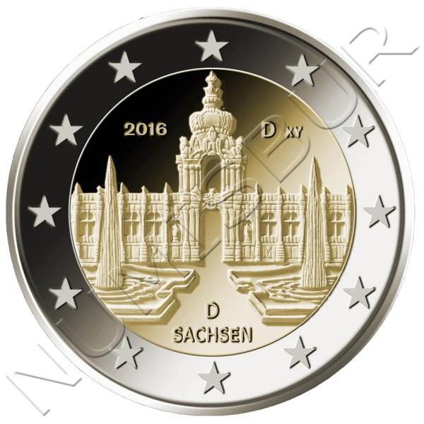 2€ ALEMANIA 2016 - Sachsen