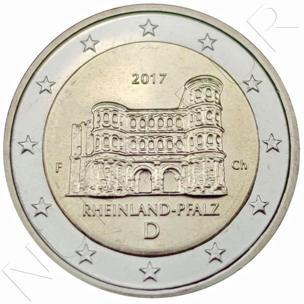 2€ GERMANY 2017 - Rheinland Pfalz