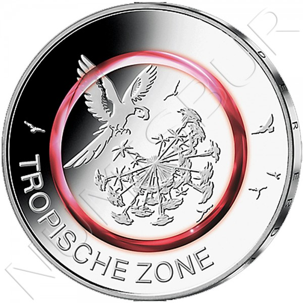 5€ ALEMANIA 2017 - Zona Tropical