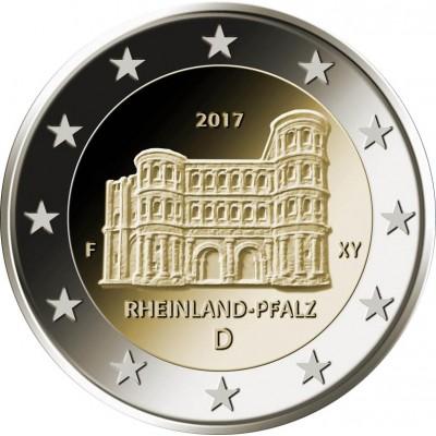 2€ ALEMANIA  2017 - Rheinland Pfalz