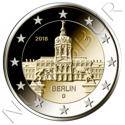 2€ ALEMANIA  2018 - Berlin