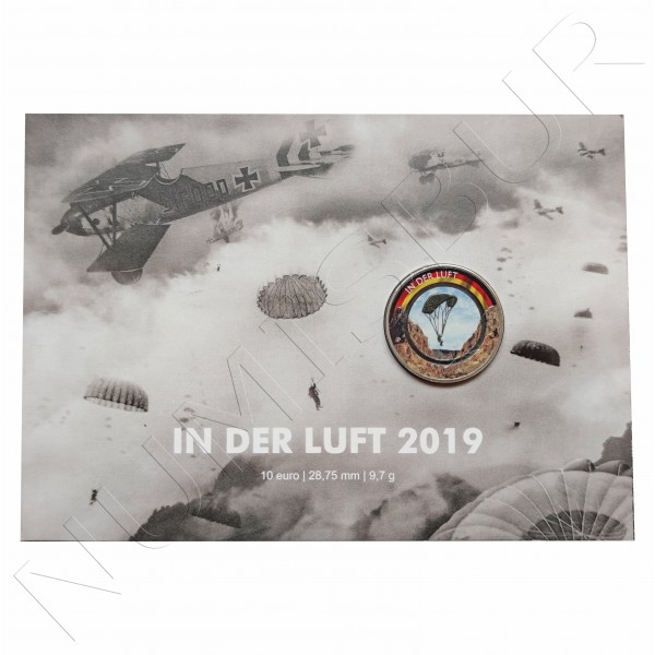 "10€ GERMANY 2019 - In the air ""G"""