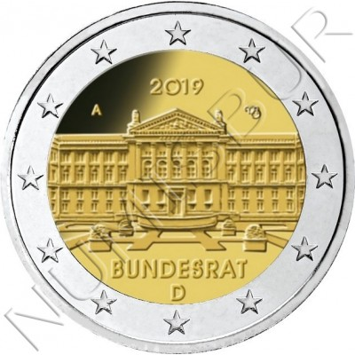 2€ GERMANY 2019 - Bundesrat
